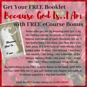 Free Booklet Because God Is I am Booklet with Sign up
