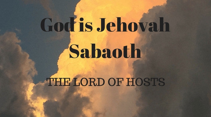 M10A Lord of hosts [Jehovah Sabaoth]