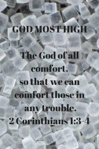 God's Word of comfort