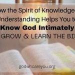 How the Spirit of Knowledge and Understanding Helps