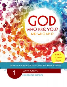 GOD Who Are You? AND Who Am I? Knowing and Experiencing God by His Hebrew Names