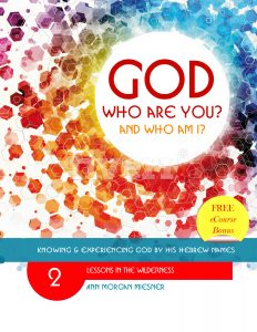 GOD Who Are You? AND Who AM I? Lessons in Wilderness