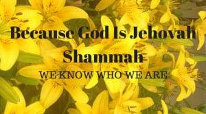 Jehovah Shammah - Hank