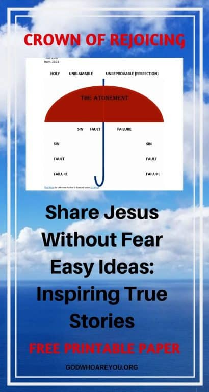 WITNESS FOR CHRIST: SHARE-JESUS-WITHOUT-FEAR-EASY-IDEAS-INSPIRING-TRUE-STORIES