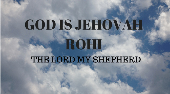 M5B Sheep of the Lord's – Jehovah Rohi