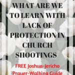 WHAT ARE WE TO LEARN WITH LACK OF PROTECTION