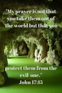 Have salt in the world where you are protected