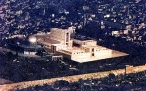 transformed Jerusalem with temple